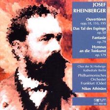 RHEINBERGER Op. 18, 110, 195, 50, 79 & 179 CD LIKE NEW Nikos Athinaos, SIGNUM