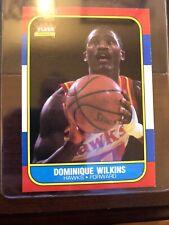 86-87 Fleer Basketball #121 Dominique Wilkins Pack Fresh