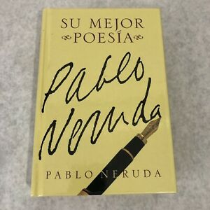 Pablo Neruda Book Su Major Poesia Spanish Language Poetry Hardcover