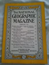 The National Geographic February 1956. Coca cola ad