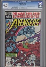 Avengers #199 CGC 9.2 1980 Marvel Comic with Red Ronin & Nick Fury: Price Drop