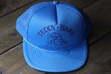TEDDY BEAR Fishing Hat CANADA SNAPBACK TRUCKER