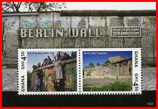 Ghana 2014 BERLIN WALL FALL ANNIV.  S/S #1 (WE HAVE ##2, 3, 4 ALSO, CAPISCI?) **