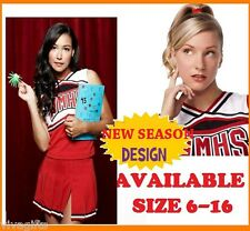 65QUALITY GLEE Cheerleader Costume Ladies sz 6/8 or girls 8/10