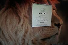 Apple Mac Pro A1186  2X 2.66GHZ XEON  5GB RAM  NVIDIA 7300 GT 250GB OSX 10.7 #16