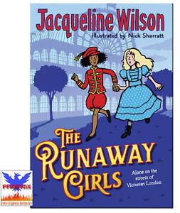 THE RUNAWAY GIRLS Jacqueline Wilson HARDCOVER *BRAND NEW*