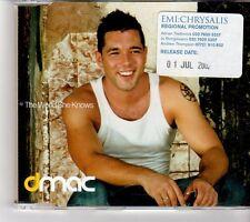 (FP128) Dmac, The World She Knows - 2002 DJ CD