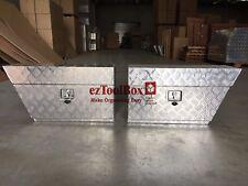 HeavyDuty Aluminium Toolbox Under Tray Ute ToolBox storage 750x250x400mmTOOL BOX