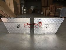 Pair of Aluminium Toolbox Under Tray undertray Ute ToolBox 750x250x400mmTOOL BOX