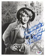 DONNA DOUGLAS SIGNED AUTOGRAPHED 8x10 PHOTO ELLY MAY BEVERLY HILLBILLIES PSA/DNA