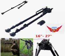 "16""- 27"" Bipod Sling Swivel Spring Return Harris style Rail Adapter 20mm Hunting"
