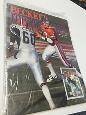 Beckett Football Monthly Magazine, March April 1990, John Elway, Broncos , Cards