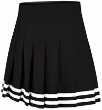 Double-Knit Knife-Pleat Cheer Uniform Skirt - Youth Girls Sizes
