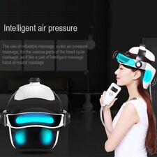 Head Relax Massage Helmet for Releasing Pressure  Maintaining Brain Black White