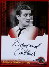 DOCTOR WHO - Bernard Cribbins, Tom Campbell - Autograph Card - Unstoppable Cards