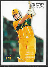 FUTERA 1996 WORLD CUP AUSTRALIA CRICKET MARK WAUGH CARD  No 15.