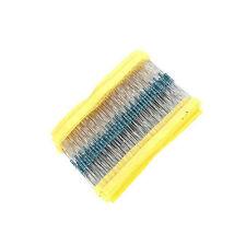 100PCS 22KΩ 22K Ohm 1/4W 0.25W 1% accuracy Metal Film Resistors RoHS R-MF CA