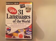 TEACHING YOU - 31 LANGUAGES OF THE WORLD PC/MAC CD-ROM - BRAND NEW AND SEALED