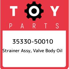 35330-50010 Toyota Strainer assy, valve body oil 3533050010, New Genuine OEM Par