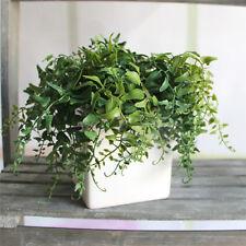 2PCS Artificial Ivy Silk Green Plant Leaf Foliage Ferns Flower Craft Home Decor