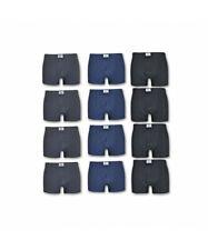 12 pezzi di boxer uomo in cotone elasticizzato 12-BXR-EL02