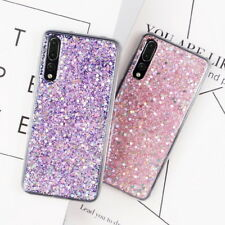 For Huawei P20 Pro Mate 30 P40 Lite P30 Pro Bling Glitter Soft Rubber Case Cover