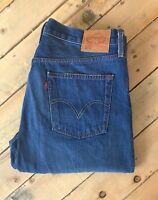 VINTAGE LEVI 501 CT JEANS BLUE 36/32 MENS LEVI'S W36 L32 TAPERED LEG BUTTON FLY