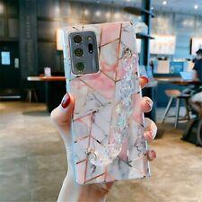 Luxury Marble Design Bracelet Strap Phone Case For Samsung S10 S20 S21 Note 20