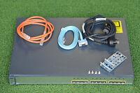 CISCO WS-C3750G-12S-E 3750G 12 Gigabit Fiber Port Switch  w/Rack  - 1YrWtyTaxInv