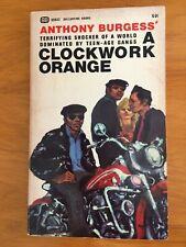 New listing A Clockwork Orange 1968 Ballantine Paperback Second Printing, Vg Condition