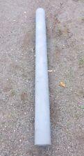 Stahlrohr feuerverzinkt Pfosten 114,3mm 1,49m lang  8-9mm Stark