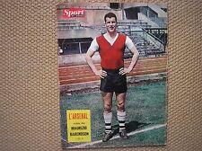 ARSENAL A FIRENZE FOOTBALL CALCIO MEL CHARLES COVER 1959 ITALIAN SPORT MAG