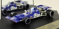 Quartzo 1/43 Scale 4037 Tyrrell 002 Monaco GP 1971 F. Cevert Diecast F1 Car