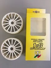 Cerchi 1/8 GT RALLY GAMES GRP (2 Pezzi) Colore Bianco W80GRP
