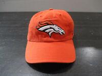Denver Broncos Hat Cap Strap Back Orange Blue NFL Football Adjustable Mens