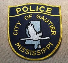 MS City of Gautier Mississippi Police Patch