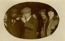 Photo Stand de Tir Tireur Foire Fête ForaineVers 1920
