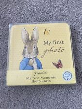 My First Photo Cards Peter Rabbit New Baby Gift