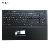 Original New for Sony VAIO VPC-SE VPCSE VPCSE13FX  Palmrest cover US Keyboard