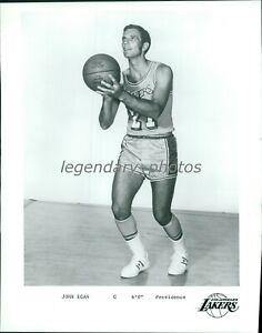 1968 Johnny Egan Los Angeles Lakers Point Guard Original News Service Photo