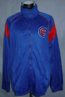 Chicago Cubs Carl Banks MLB Blue Full Zip 100% Polyester Jacket Men's Size XL