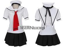 CARD CAPTOR SAKURA Girl Sailor School Uniform Cosplay Costume With Hat -summer