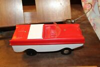 Vintage DX Gas Advertising Amphibian Car Boat Battery Operated Nichols Texas
