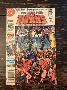 New Teen Titans #21 - 1st App. Brother Blood (DC) Free Combine Shipping