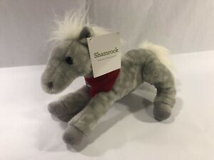 Wells Fargo Shamrock Plush Legendary Pony 2013 Collectible New w/Tags
