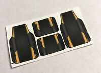 1//24-1//25 Scale Model Car Floor Mats Cowgirl 5 Pin Up Mats
