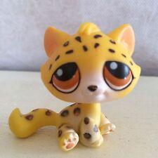 Littlest Pet Shop #388 Yellow Leopard Cat Cheetah Safari LPS Toy Africa World