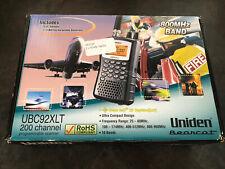 Uniden Bearcat UBC92XLT 200 Channel Programmable Scanner