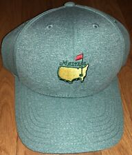 2018 MASTERS EVERGREEN GREEN PERFORMANCE GOLF HAT AUGUSTA NATIONAL NEW W/ TAGS