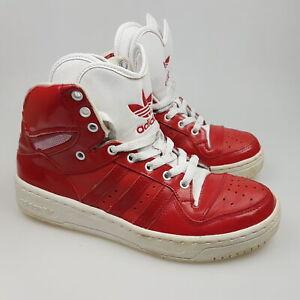 Women's ADIDAS 'Attitude Logo Heart' Sz 8 US Shoes Red VGCon   3+ Extra 10% Off